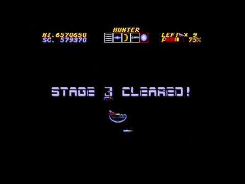 Thunder Force IV Sega Saturn STYX 1CC Run