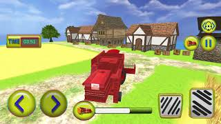 Harvester Tractor Farming Simulator Game - Android Gameplay
