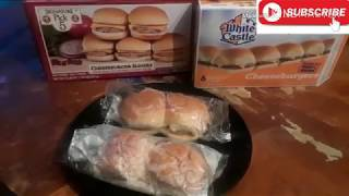 White castle vs cheeseburger sliders (which one is best???)