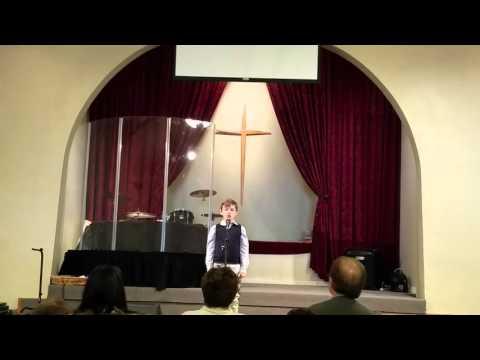Neighborhood Christian school speech meet