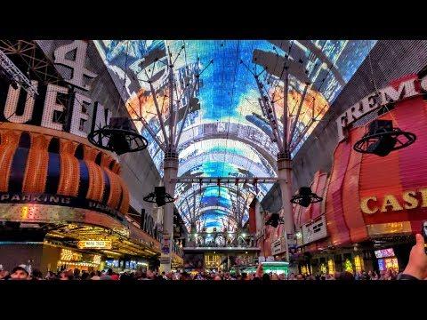 Fremont Street Experience Roof Show - Viva Vision Light Show | Downtown, Las Vegas, Nevada