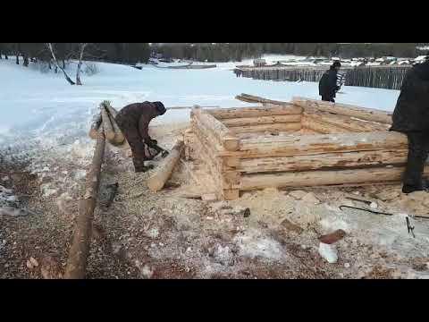 Купить сруб бани в Челябинске