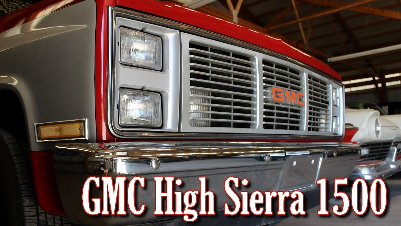 1985 Gmc High Sierra 1500 Nicely Maintained Square Body Youtube