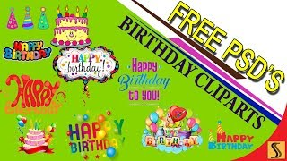 Video FREE / PSD BIRTHDAY CLIPARTS Fully Editable For Photoshop[ss free psd]#205 download MP3, 3GP, MP4, WEBM, AVI, FLV Juli 2018