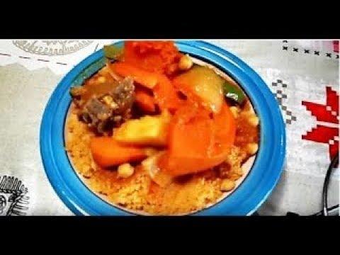 Cuisine tunisienne zakia kouskous - Youtube cuisine tunisienne ...