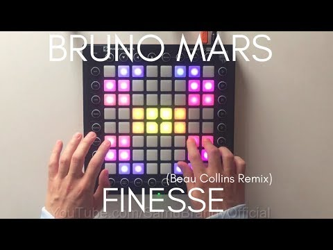 Bruno Mars - Finesse Beau Collins Remix Launchpad Pro Cover