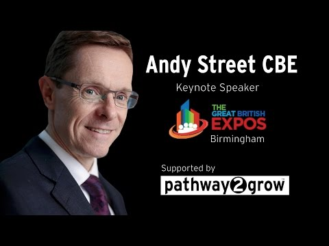 Andy Street Mayor of West Midlands Presentation in March 2017 @andy4wm @GBExpos @pathway2grow