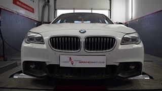 Przyspieszamy limuzynę - BMW F10 520d 180 KM 2015 po chip tuningu w Grand Service
