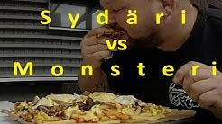 Lahden torigrilli 2.25 kg sydäri / sydänkohtaus ruokahaaste vs Monsteri