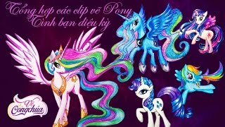 Incorporate video clip of My Little Pony Pony drawing - Friendship magic