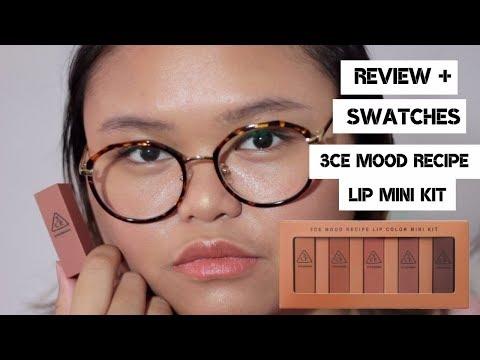 review+swatches-3ce-mood-recipes-mini-kit-lipstick-(bahasa)