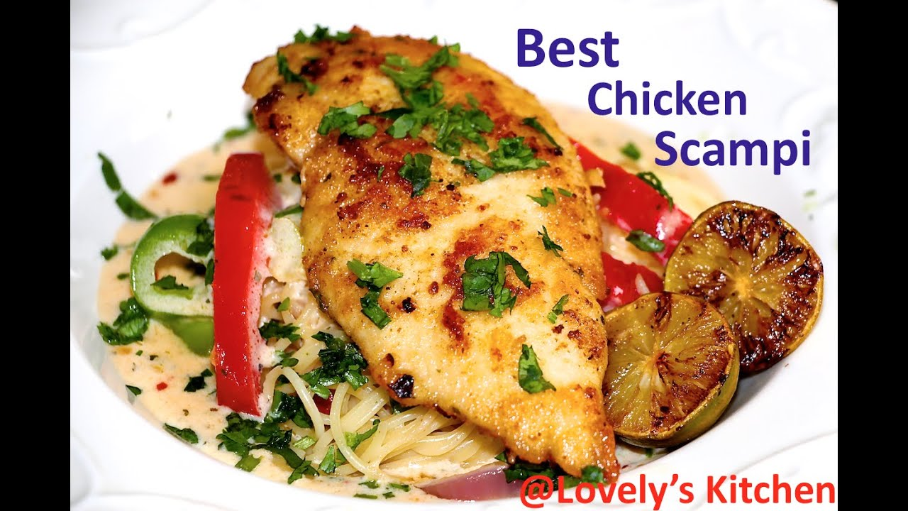 Best Chicken Scampi Olive Garden Style From Lovely 39 S Kitchen Youtube