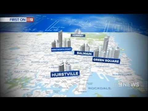 Nine News Sydney: North Ryde Highrise Development (30/10/2014)