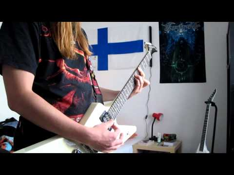 Airbourne - Diamond in the Rough Cover (Gibson Explorer)