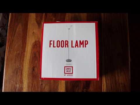 Argos Simple Value Floor Lamp