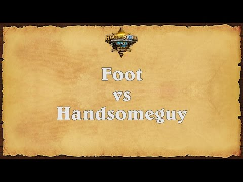 Foot vs Handsomeguy - Asia-Pacific Spring Championship - Semifinal #1