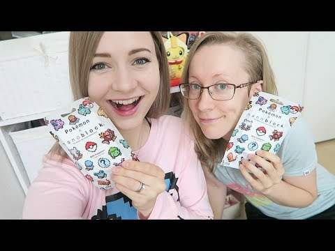 LIVE CHAT with my Sister! | Opening Our Pokemon Blind Bags!