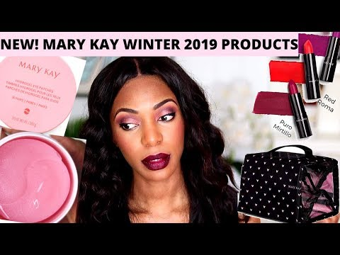 NEW Mary Kay Winter 2019 Products Review #marykay #mary #kay #MaryKayHydrogeleyepatches