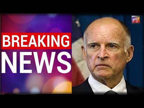 BREAKING: California Gov Jerry Brown Did the Unthinkable, And TRUMP Responded