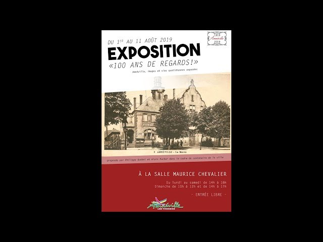 Exposition : 100 ans de regards