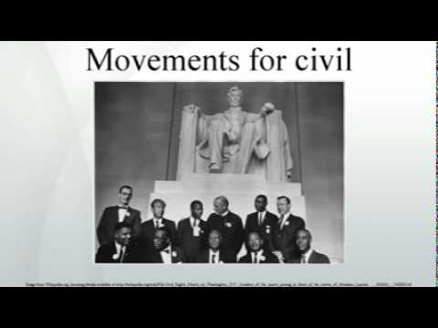 Movements for civil rights
