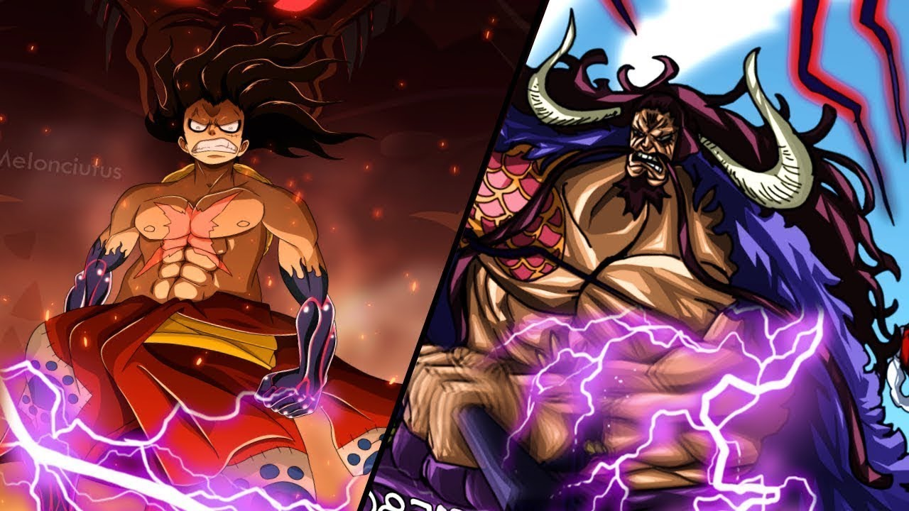 Monkey D Luffy Vs Kaido Dragon In Arc Wano Part 1 One Piece