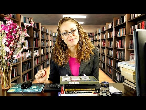 Binaural ASMR Library Role Play /// Typing, Whisper, Page Turning, Books, Writing, Soft Spoken ///