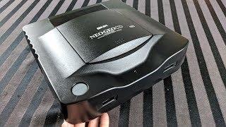 Cleaning and Restoring an SNK Neo Geo CD (Top Loader) - Adam Koralik