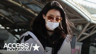 Model Ming Xi Spotted Out Following Her Fall At The Victoria's Secret Fashion Show