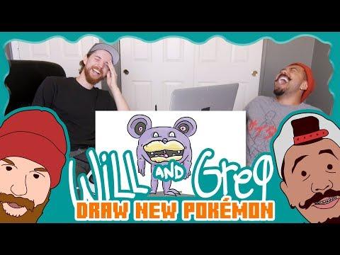 Will & Greg Draw New Pokemon (Ep. 17)