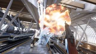 Unreal Engine 4 VR Tech Demo : Bullet Train on HTC Vive