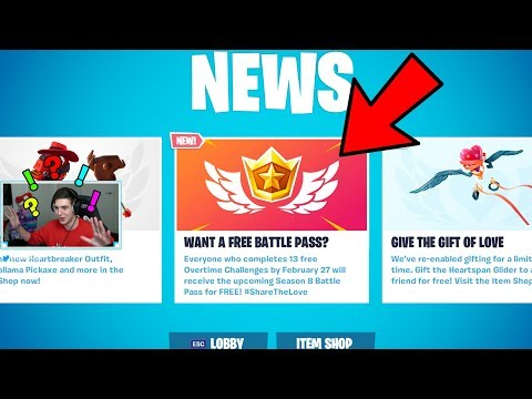 FORTNITE FREE BATTLE PASS + GIFTING IS HERE! (GREAT NEWS)