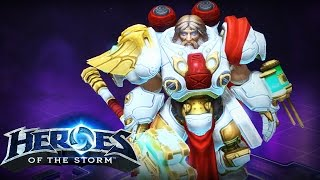 ♥ Heroes of the Storm (Gameplay) - Uther, For All Your Healing Needs (DQ#53)