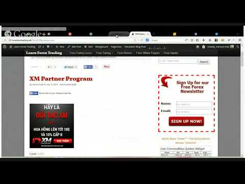 Earning A Passive Income From Forex Trading Using The XM Partner Program