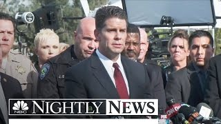 San Bernardino Shooters Had Pipe Bombs, Thousands of Rounds of Ammo | NBC Nightly News