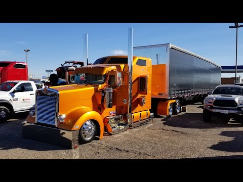 Fully Custom Kenworth W 900 From Nava Transport Rollin R Enterprises Of Oxnard Ca