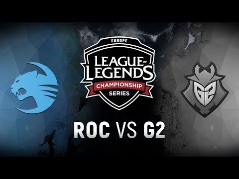 ROC Vs. G2 - Week 5  Day 2 | EU LCS Summer Split | Team Roccat Vs. G2 Esports (2018)
