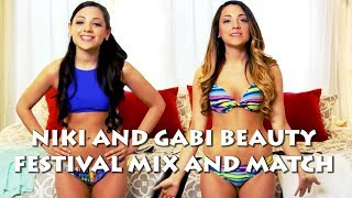 Help Niki and Gabi Get Ready For Festival Season! Mix And Match Ep. 1