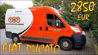 Автомобиль из Литвы Fiat Ducato.