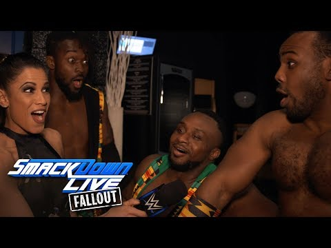 The New Day are ready to take back the Tag Team Titles: SmackDown  Fallout, Feb 20, 2018