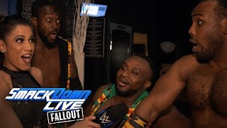 The New Day are ready to take back the Tag Team Titles: SmackDown LIVE Fallout, Feb. 20, 2018