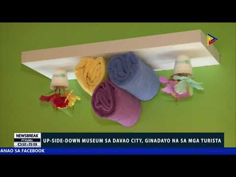 NEWS BREAK: Up-side-down Museum sa Davao City, ginadayo na sa mga turista
