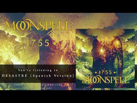 MOONSPELL - Desastre (Spanish Version) (Official Audio) | Napalm Records