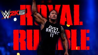 WWE Royal Rumble 2015 FULL SHOW, January 25, 2014 【PS4 / XBOX ONE / Next Gen】