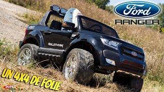 Ma nouvelle voiture Ford Ranger Kiddi Quad Un 4x4 electrique de Folie Super Heros et Compagnie