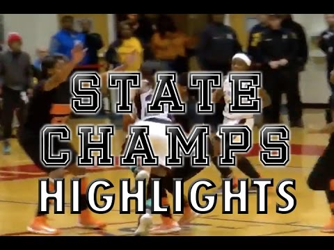 Detroit King vs. Detroit Renaissance - 2016 Girls Basketball Highlights on STATE CHAMPS!