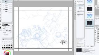 Sergio Cariello drawing the Ascension part 1