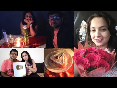 ವ್ಯಾಲೆಂಟೈನ್ಸ್ ಡೇ ವ್ಲಾಗ್ - ಯೌಟ್ಯೂಬ್ ಗಿಫ್ಟ್ | Our Valentines Day Celebration Vlog & Gift From YouTube