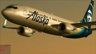 "[FSX] Alaska Airlines ""new colors"""