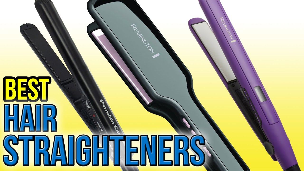 10 Best Hair Straighteners 2016